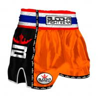Pantaloncini  Muay Thai Buddha  Retro Orange