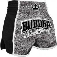 Pantaloncini  Muay Thai Buddha  Retro Tattoo
