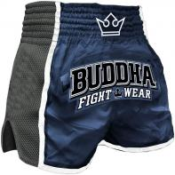 Pantaloncini  Muay Thai Buddha  Retro X blu