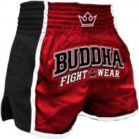 Pantaloncini  Muay Thai Buddha  Retro X Rosso