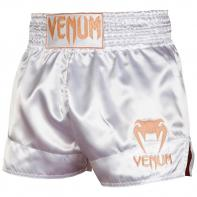 Pantaloncini Muay Thai Venum Classic white / gold