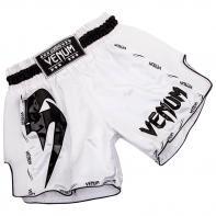 Pantaloncini Muay Thai Venum Giant Bianco / Nero