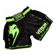 Pantaloncini Muay Thai Venum Giant black Neo Yellow