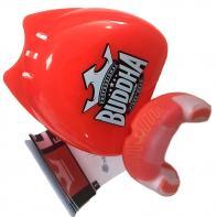 Paradenti boxe Buddha Premium red