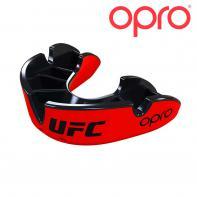 Paradenti boxe Opro Silver Red/Black  UFC