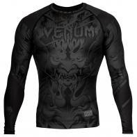 Rashguard Venum Devil negro matte l/s