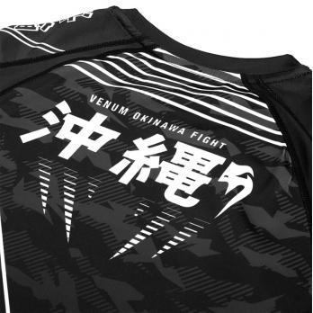 Rashguard Venum Okinawa 2.0 Nero / Bianco