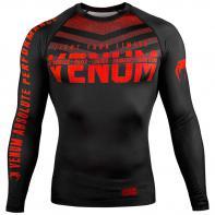 Rashguard Venum Signature l/s Nero / Rosso
