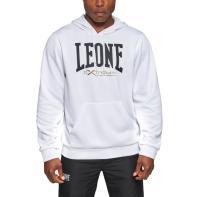 Felpa Leone Logo white