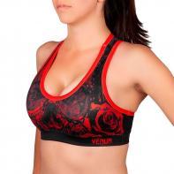 Sports Bra Venum Santa Muerte 3.0 black/red