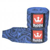 Fasce boxe Buddha Tattoo blue  4,5 m